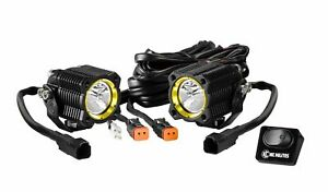 Kc Hilites 269 Flex Led Off Road Light Flex Led Single Spread System 10w Pair