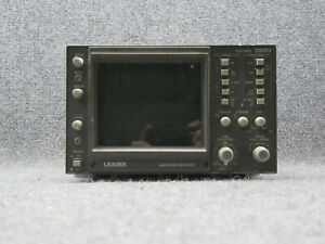 Leader 5860v 525 Lines Waveform Monitor tested Working