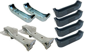 1967 72 Chevy Gmc C10 Pickup Truck 4 Core Heavy Duty Radiator Bracket Kit 8pc