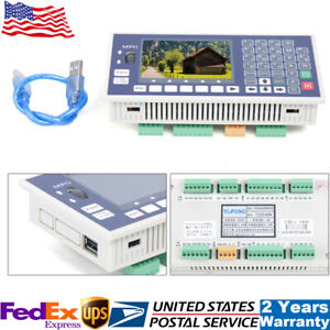 New 4 Axis Cnc Motion Controller System Usb Offline Controller 400khz usb Cable