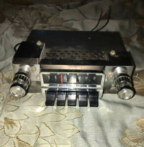 Vintage Ford Fomoco Am Dash Radio Fits 64 65 66 Mustang And 64 65 Falcon