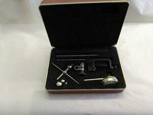 Starrett 196a6z Dial Indicator Anti magnetic Universal Back Plunger With Box