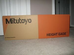 Mitutoyo 192 632 10 Digimatic Height Gage 24 600mm X 0005 0002 0 01mm 0 00