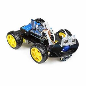 Uctronics Smart Bluetooth Robot Car Kit Arduino For Uno R3 Line Tracking Ult