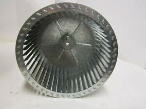 Blower Wheel Dia 11 In Bore 1 2 In Max Rpm 1750 Ccw Hub End New