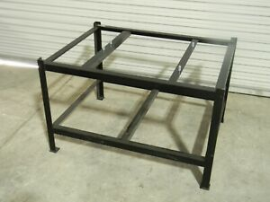 Stationary Steel Stand For 48 X 36 Surface Inspection Plates 30 Height