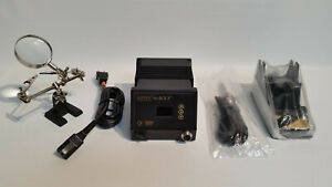 Aoyue Int 937 4 Soldering Iron Station Complete Kit