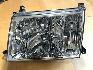 1998 2005 Toyota Land Cruiser Right Left Headlamp Assembly Glass 100 Series