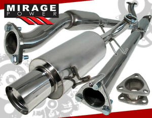 For 98 02 Honda Accord Lx Dx Ex L4 2 3l 4cyl 2 5 3pc Catback Exhaust System