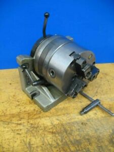 Bison 6 Horizontal vertical Super Spacer Rotary Indexer 6 3 Jaw Chuck Rev Jaws