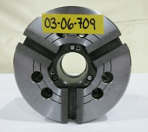 Kitagawa 6 3 jaw A2 5 Spindle Mount Power Chuck Model B 206