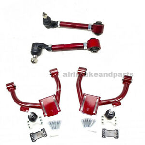Godspeed Adjustable Front Rear Camber Arms Kit Fit Accord cg cf 1998 02