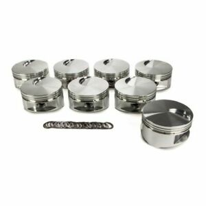 Je Pistons 170878 460 Flat Top Piston Forged 4 440 Inch Bore For Big Block Ford