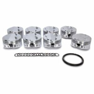Je Pistons 213112 400 Small Block 18 Degree Dome Pistons Forged 4 155 Inch Bore