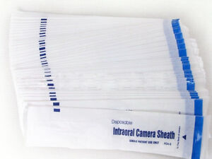 900pcs Intraoral Dental Camera Sleeve Sheath Cover For 5 0 Mega Pixel Wholesale