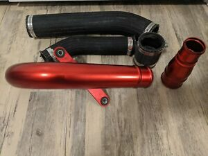 Mitsubishi Lancer Evolution 10 Evo X Oem Genuine Upper Intercooler Red Pipe Jdm