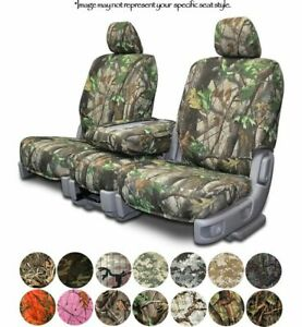Custom Fit Camouflage Seat Covers For Toyota Tacoma