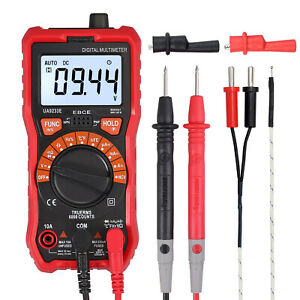 Digital Multimeter True Rms Ncv Ac dc Voltage Current Resistance Meter Tester