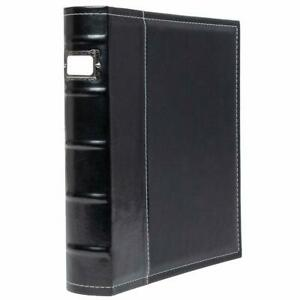 Bellagio italia 3 Ring Binder 1 Inch Ring Stores Up To 250 Pages Classy Faux