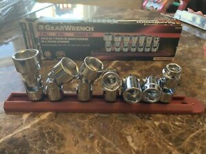 Gearwrench 80564 7 Pc Sae 6 Pt Flex Socket Set 3 8 Drive Warranty Included