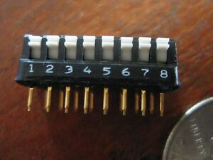 90 Pieces Amp 435802 1 Switch Assembly Dip Ic Project New