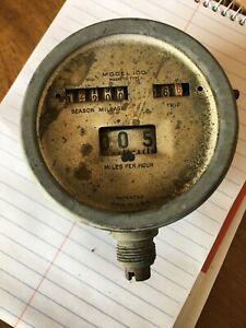 Vintage Stewart Warner Speedometer Model 100 1914 1915 Model T Ford Rat Rod