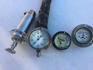 1914 1915 1916 Stutz Bearcat Gauge Set Vintage Race Car Speedster Indy 500 Trog