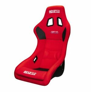 Sparco Seat Qrt R Red Racing Bucket Seat Spa008012red New Fast Ship