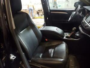 2014 2016 Toyota Highlander Front Seat Leather Manual Right Passenger Black