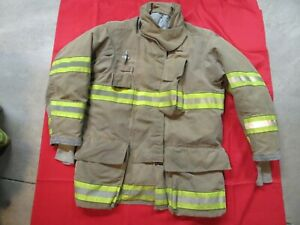 Mfg 2011 Globe Gxtreme 44 1 X 35 Firefighter Turnout Bunker Jacket Fire Rescue