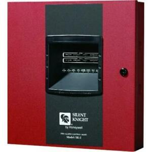 Silent Knight Honeywell Fire Sk 2 Fire Alarm Control Panel 2 zone Conventional