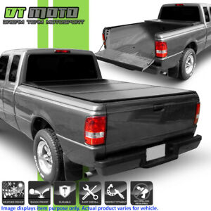 Hard Tri Fold Tonneau Cover For 1993 2011 Ford Ranger 6 72 Inch Flareside Bed