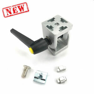 Rotating Profile Joint W Tool less Handle 4040 Aluminum Profile Extrusion Assy