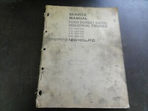 New Holland Ford Dorset Diesel 4 2l 6 0l 5 9l Industrial Engines Service Manual