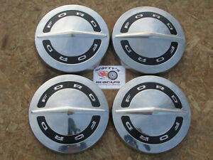 1964 65 66 Ford F100 Pickup Truck Galaxie poverty Dog Dish Hubcaps Set Of 4