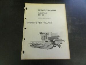 New Holland Tr 70 Combine Rotor Gear Boxes Service Manual 40483302