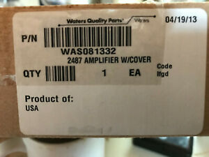 Waters 2487 Tuv Detector Amplifier Was081332 With Cover Hplc