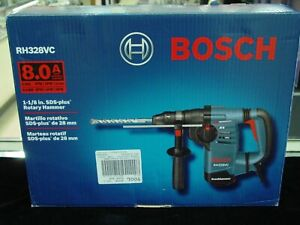 New Bosch Rh328vc 1 1 8 Sds Plus Rotary Hammer Drill Free Shipping