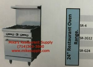 New 24 Lp Propane Range 4 Burner Gas Oven Base Stratus Sr 4lp 7264