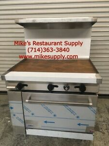 New 36 Lp Propane Range Griddle Plancha Top Oven Base Stratus Sr g36 lp 7270