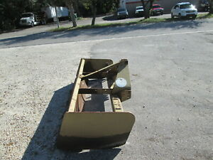 Box Blade 8 Wide Cat 2 Three Point Hitch With 5 Rippers