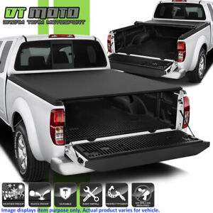 Premium Soft Roll Up Tonneau Cover For 2004 2015 Nissan Frontier 5ft 60 Bed