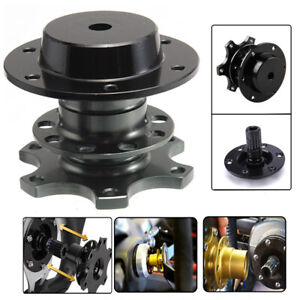 Universal Steering Wheel Quick Release Hub Racing Adapter Snap Off Boss Kit