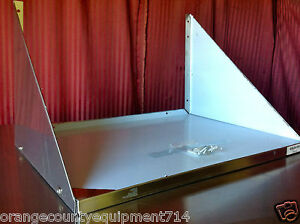 New 18 X 24 Microwave Wall Shelf Nsf 2723 Stainless Steel Restaurant Heavy Duty