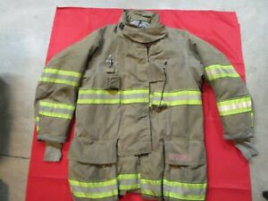 Mfg 2012 Globe Gxtreme 44 X 35 Firefighter Turnout Bunker Jacket Fire Rescue