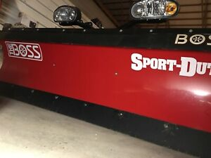 Boss 7 6 Snow Plow Like New Only Used Twice