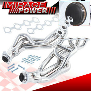 Long Tube S s Exhaust Header Manifold For 1996 2004 Ford Mustang Gt Mach1 Bullit