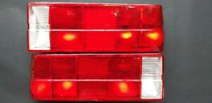 Bmw M3 E30 325i 316i 323i All Red Euro Taillight Lenses Cabrio Coupe S14 M20 M10