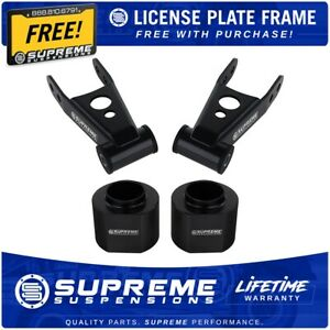 3 Front 2 Rear Leveling Lift Kit For 84 01 Jeep Cherokee Xj Free License Frame
