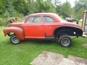 Gasser 1947 Nash 2door Hot Rod Body On S10 Frame